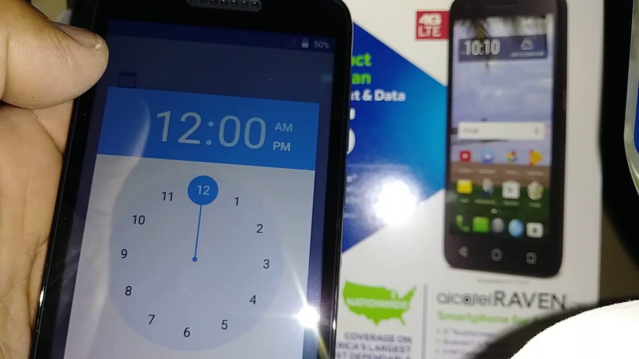 Hard Reset remove lock screen Alcatel RAVEN LTE TRACFONE Model A574BL by  Kclaudio-Leadership