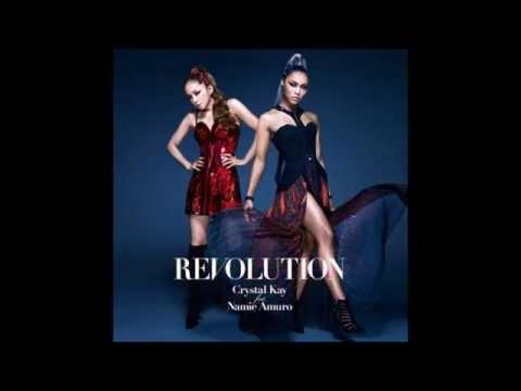 Crystal Kay 「REVOLUTION」 安室奈美恵との話題のコラボ曲
