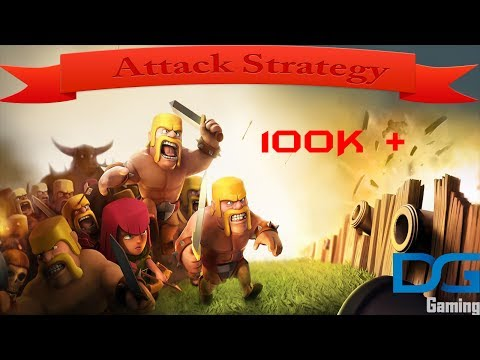 Clash Of Clans Town Hall 4 Attack Strategy - Raid 2 100K + Resources