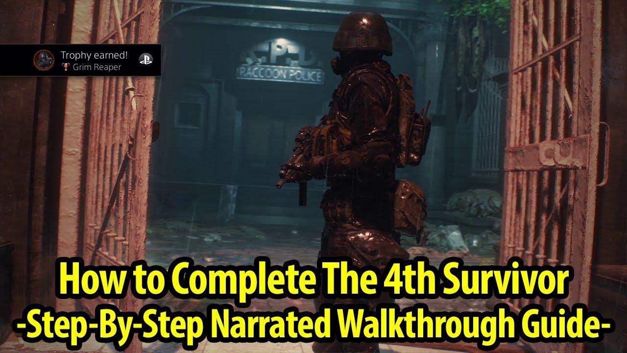 How To Get Grim Reaper Trophy Achievement Guide 4th Survivor