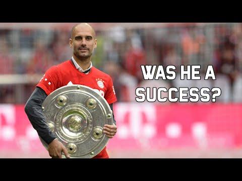Why Guardiola Was Successful At Bayern Munich [OC]