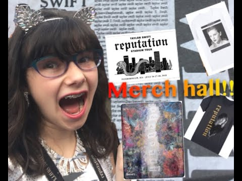 Taylor Swift Reputation Merch. Unboxing!! ( $145!!)