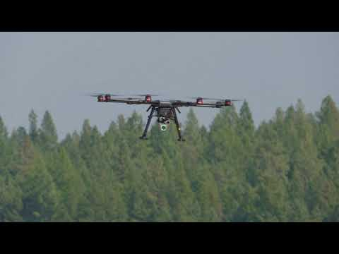 DJI Wind 8 Octocopter Methane Gas Detector