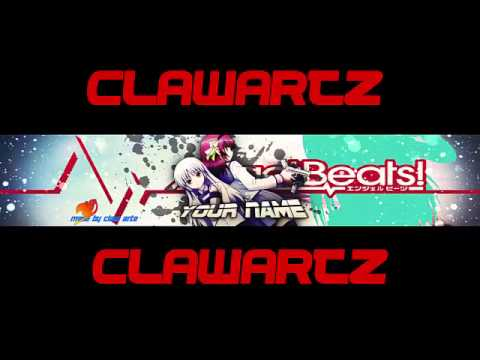 Angel Beats Anime Template Banner 02