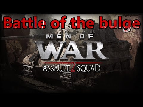 "Men Of War Assault Squad 2 American Campaign Mission 6 ""Battle of the Bulge"" Part 1"