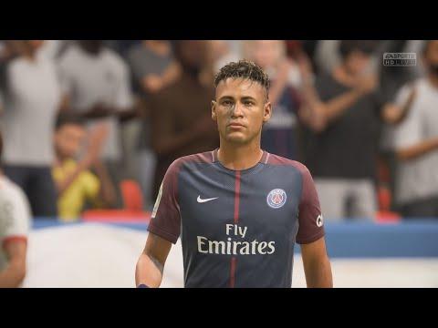 PSG VS Bayern Munich - FIFA 18 FULLGAME - Uefa Champions league 2017/2018