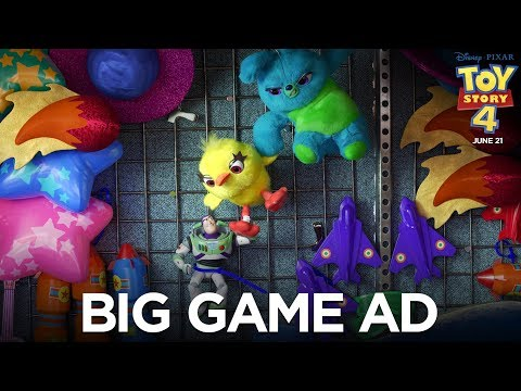 AJ - SUPER ADS: The New Toy Story 4 Trailer & Other Ads During the Big Game