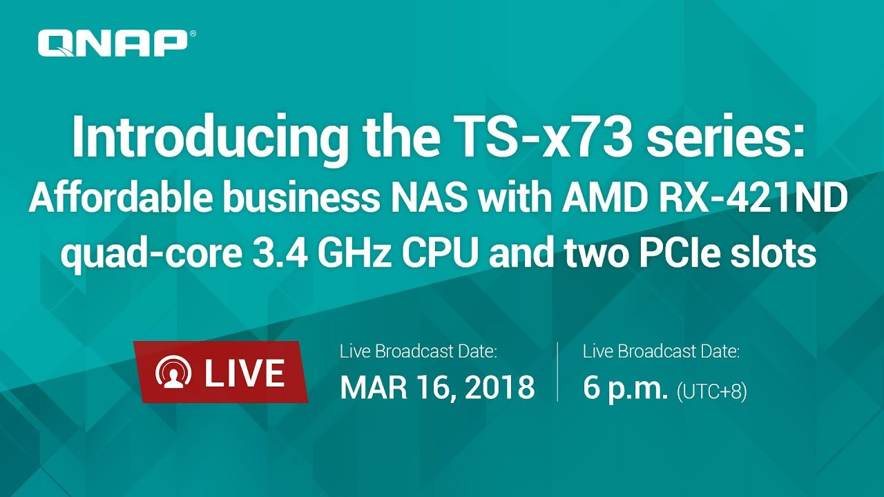 QNAP launches the AMD-powered TS-x73 NAS lineup - NotebookCheck net News