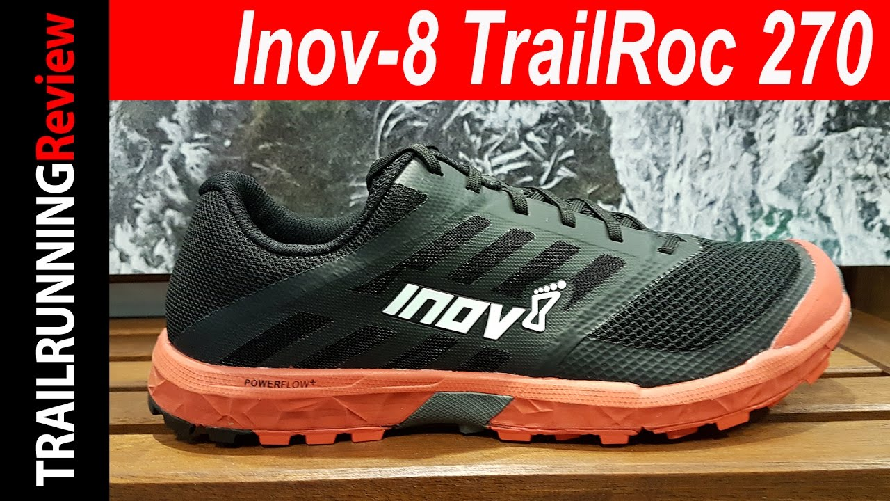 Inov-8 TrailRoc 270 Preview - YouTube