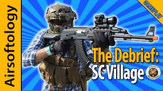 SC Village Gameplay - AK Contractor Loadout - 60 FPS   The Debrief   Airsoftology