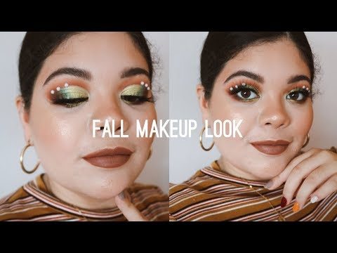 FALL MAKEUP FT. COLOURPOP X KATHLEENLIGHTS SO JADED PALETTE thumbnail