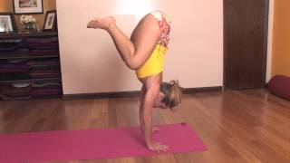 Jump/float Forward From Downward Dog To Handstand In Ashtanga Yoga With Kino Macgregor