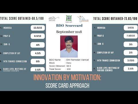 hazaribag---innovation-by-motivation-|-the-score-card-method