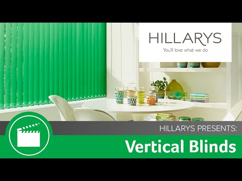 Take a look at the Vertical blinds collection by Hillarys