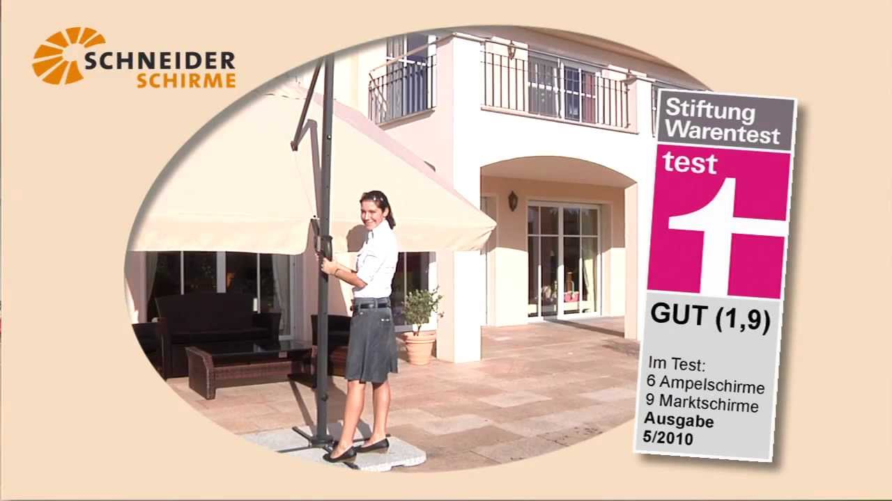 rhodos der flexible praktischer sonnenschirm von. Black Bedroom Furniture Sets. Home Design Ideas