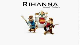 Rihanna - Numb ft. Eminem ( Alwin & Wiewiórki )
