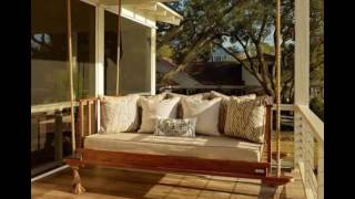 Садовые качели на даче(Уютные садовые качели так и манят нас отдохнуть и расслабиться на даче http://idealsad.com/krasivyie-sadovyie-kacheli-30-foto/, 2016-08-24T18:07:28.000Z)
