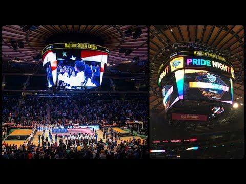 Electrifying Atmosphere At Madison Square Garden // New York City Vlog 8