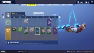 BUYING THE SEASON 5 BATTLE PASS! | FORTNITE BATTLE ROYALE