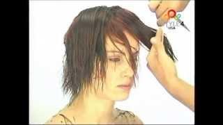 (English 65-5)  Short modern cut , Natural style,WOMEN'S SHORT HAIRCUT