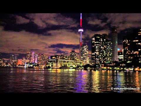 Toronto Skyline timelaps