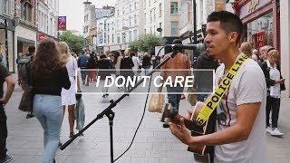 I Don't Care - Ed Sheeran (Tito Larios cover, busking on Grafton Street)