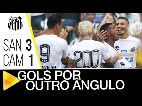 Santos 3 x 1 Atlético-MG | GOLS POR OUTRO ÂNGULO | Brasileirão (04/11/17)