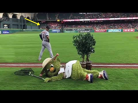 Funniest Moments of Mascots in Sports