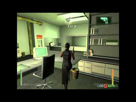 Enter The Matrix - Gameplay Gamecube HD 720P (Dolphin GC/Wii Emulator)