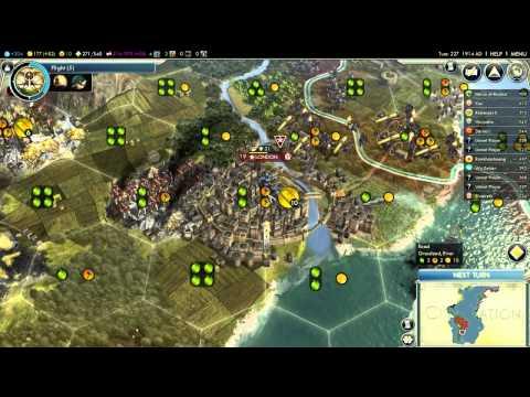 I Love Gaming: Civilization 5 - Epic battle for Planet Earth