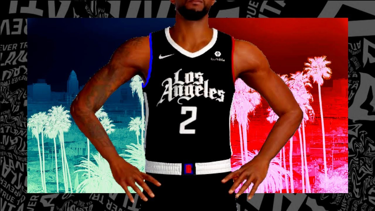 Nba 2k21 How To Make 2020 2021 Los Angeles Clippers City Jersey Tutorial Youtube