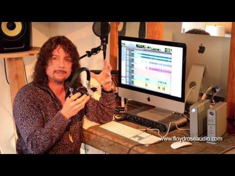 Joe Retta of Heaven & Earth Band - Floyd Rose Headphones Review