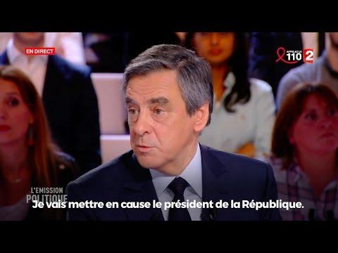 """""""Je mets en cause le président de la République"""" — François Fillon"""
