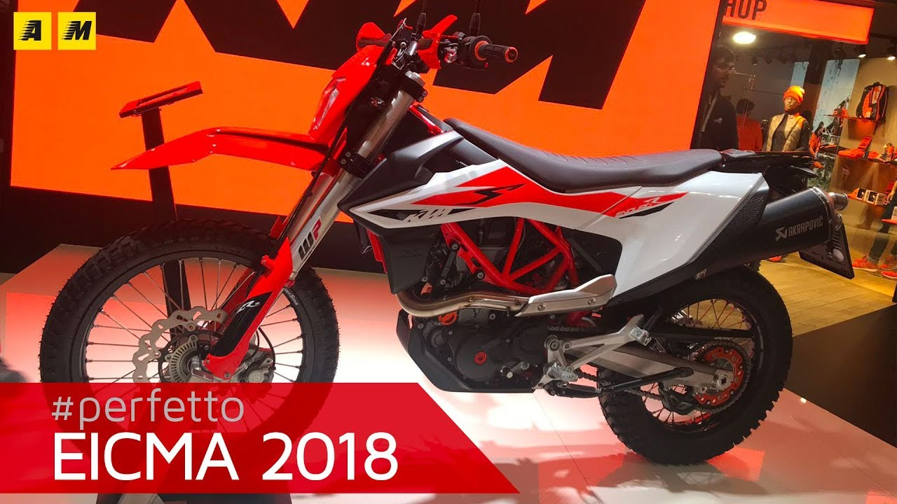 c05d32b2d3f EICMA 2018: KTM 690 Enduro R e SMC R, foto, video e dati - Fiere e saloni -  Moto.it