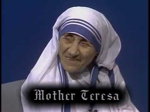 Firing Line with William F. Buckley Jr.: Mother Teresa Talks with William F. Buckley Jr.