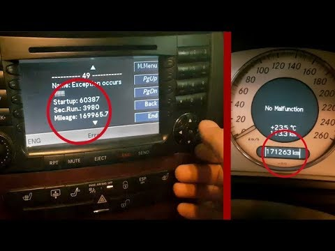 Mercedes W211 Comand Engineering Mode and Hidden features on Comand  Mercedes W211, C219