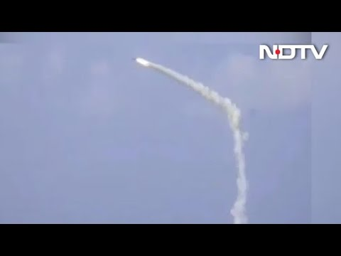 Brahmos Anti-Ship Missile Fired From Indian Navy Destroyer