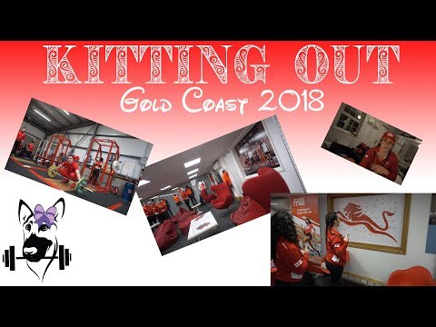 Team England Weightlifters Kitting Out Weekend