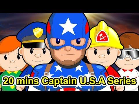 "20 mins Citi Heroes ""Captain U.S.A"" Series"