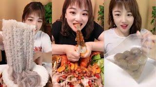 多种多样的中国海鲜吃播!중국 해산물 먹방