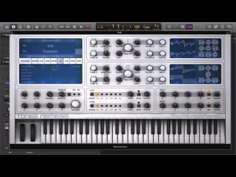Tone 2 Nemesis: Osc Overview