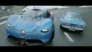 Renault Alpine A110-50 en piste