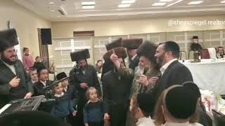 Purim 5780 with koson Lakewood Rebbe