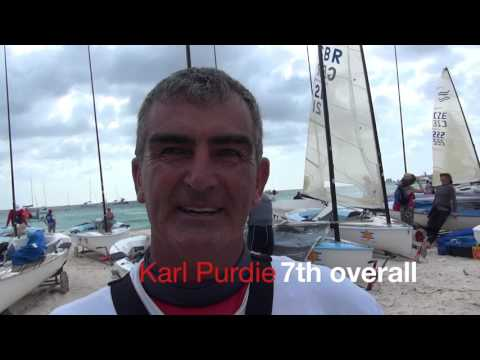 Highlights from Day 3 of Finn World Masters in Barbados