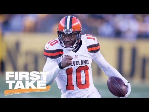 Colin Kaepernick Or Robert Griffin III To Seattle Seahawks? | First Take | May 16, 2017