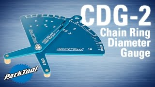CDG-2 Chainring Diameter Gauge