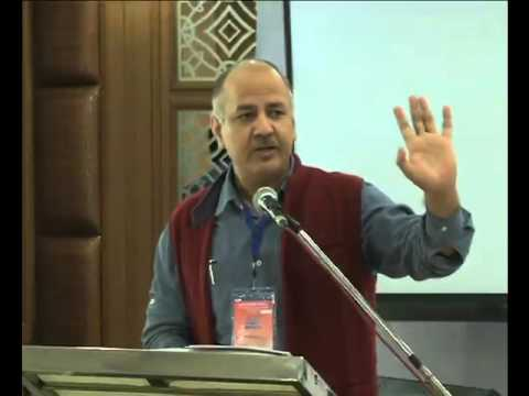 Dy CM Manish Sisodia Addressing at National Council Meet