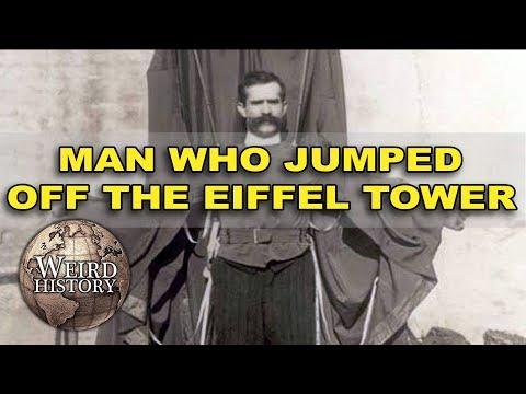 Franz Reichelt Jumps To His Death On Camera