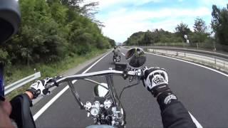 ハーレーHoliday of Japanese harley rider
