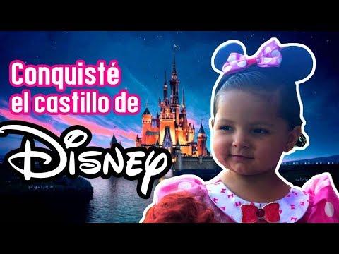 La Mini Bala conquistó el castillo de Disney